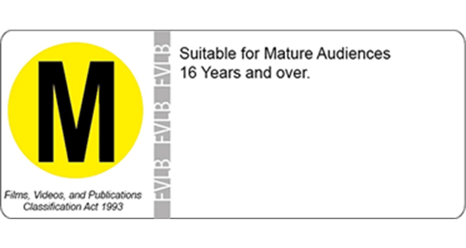 Opotiki Deluxe Theatre - Classification Labels